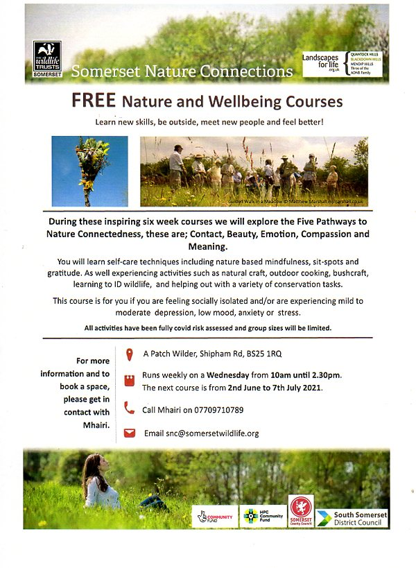 Nature and Wellbeing Courses