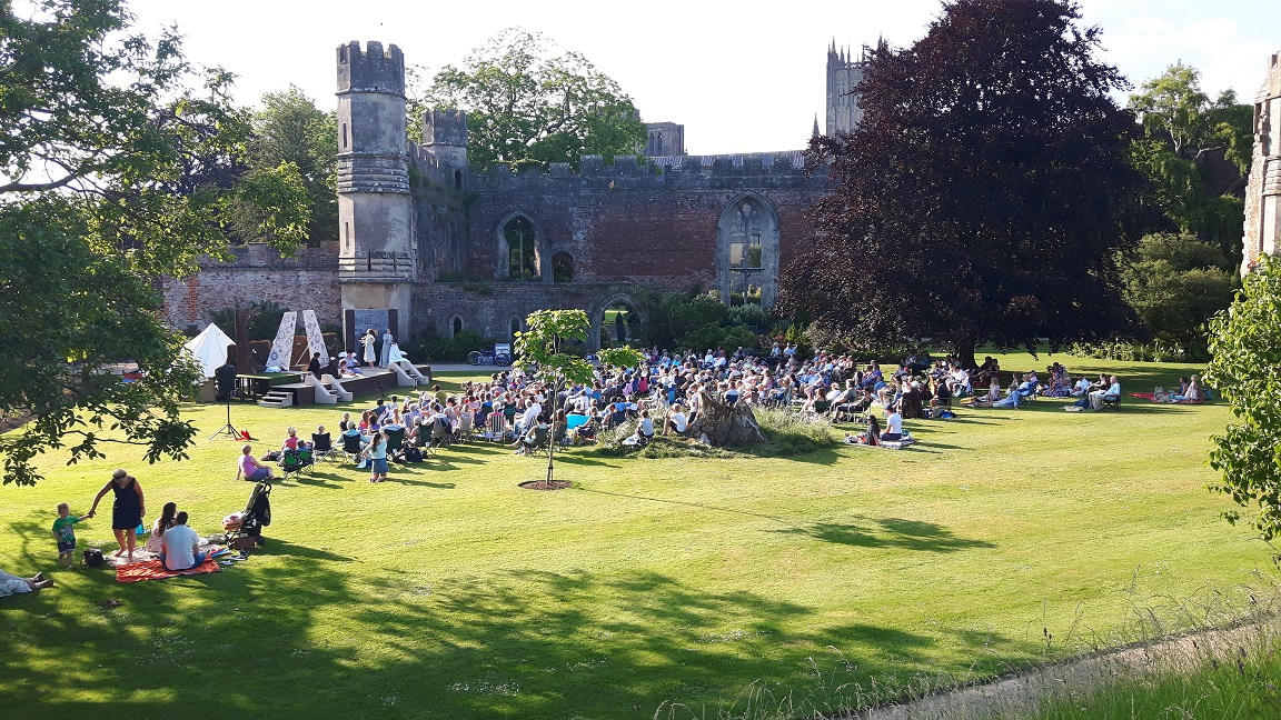 Outdoor Theatre Bishops Palace